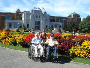 In honor of my parents - Day at the Jardin Botanique de Montréal, Québec, CANADA - September 2, 2007